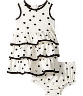 Kate Spade New York Kids - Tiered Ruffle Dress Set (Infant)