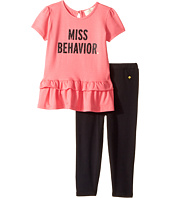 Kate Spade New York Kids - Miss Behavior Leggings Set (Infant)