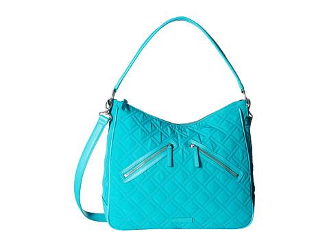 Vera Bradley Vivian Hobo Bag - Turquoise Sea