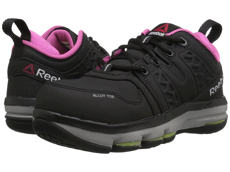 Reebok Work DMX Flex Work (Black/Pink) Women