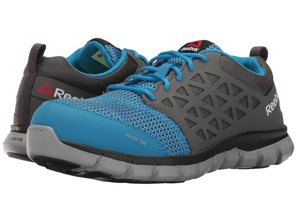 Reebok Work Sublite Cushion Work (Blue/Grey) Women's Work Boots