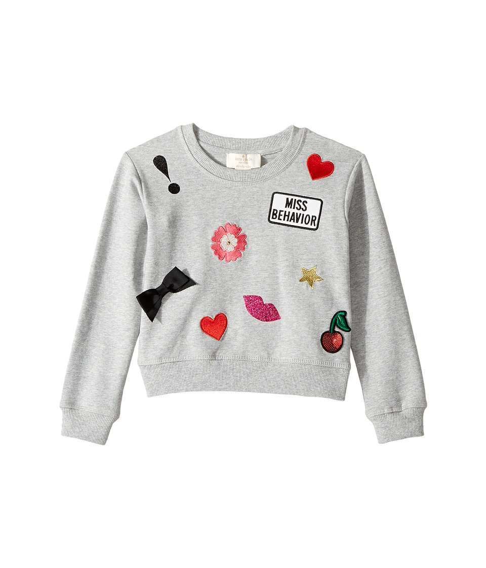 Kate Spade New York Kids - Patched Sweatshirt