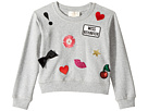 Kate Spade New York Kids - Patched Sweatshirt (Toddler/Little Kids)