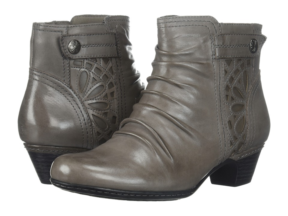 Rockport Cobb Hill Collection - Cobb Hill Abilene (Grey Leather) Womens Boots