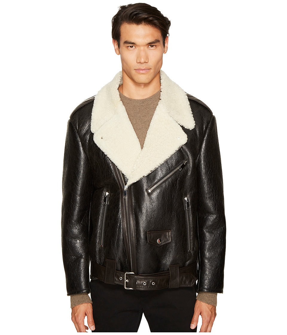 Marc Jacobs Oversized Shearling Jacket (Black) Men