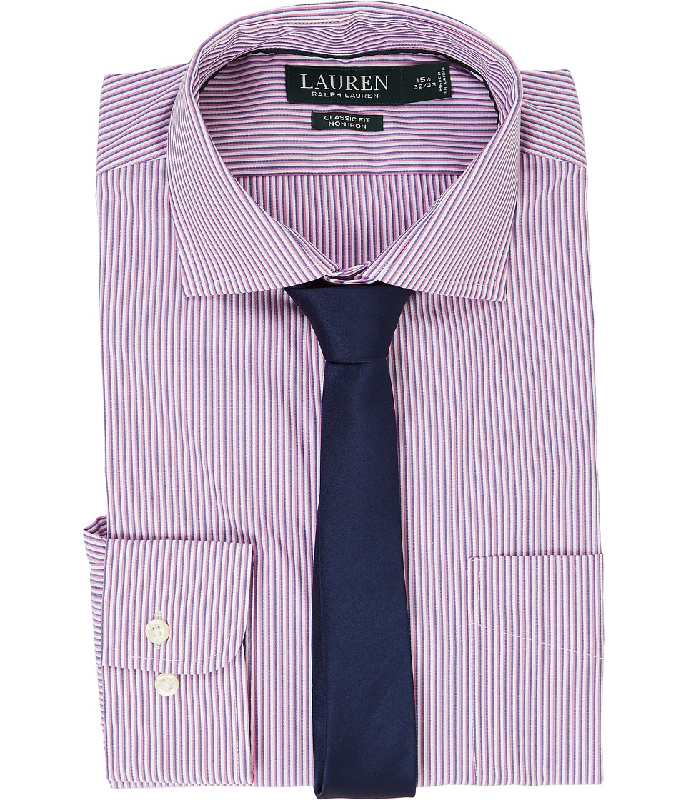 Ralph Lauren Classic Fit Estate Collar with A Pocket Dres...