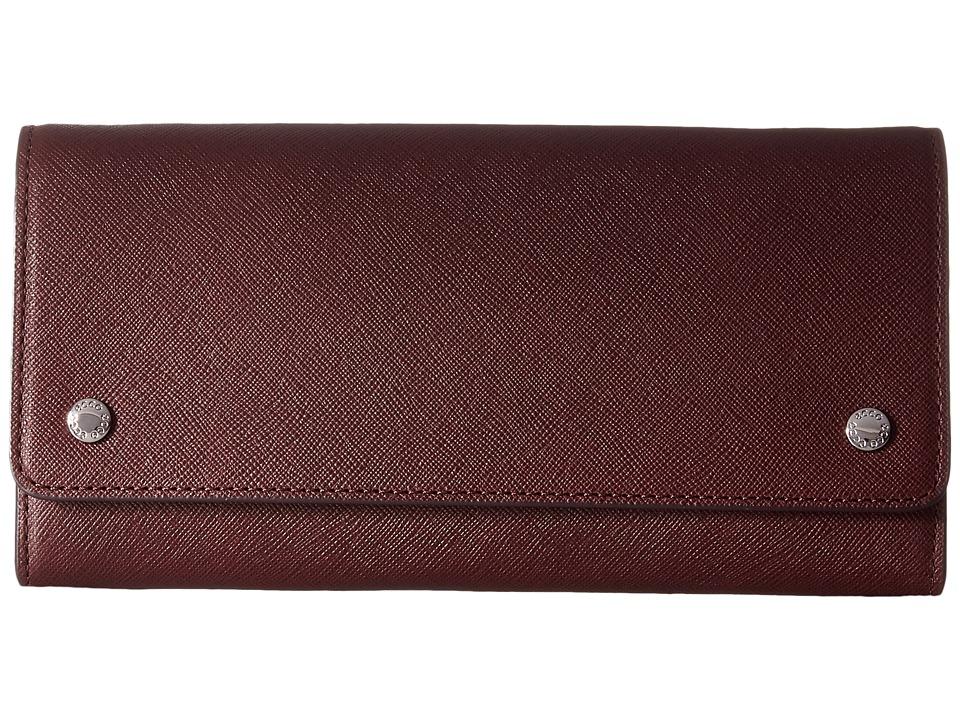 ECCO Iola Clutch Wallet (Wine) Clutch Handbags