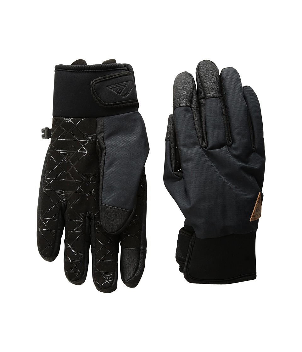 Quiksilver - Method Gloves (Black) Extreme Cold Weather Gloves
