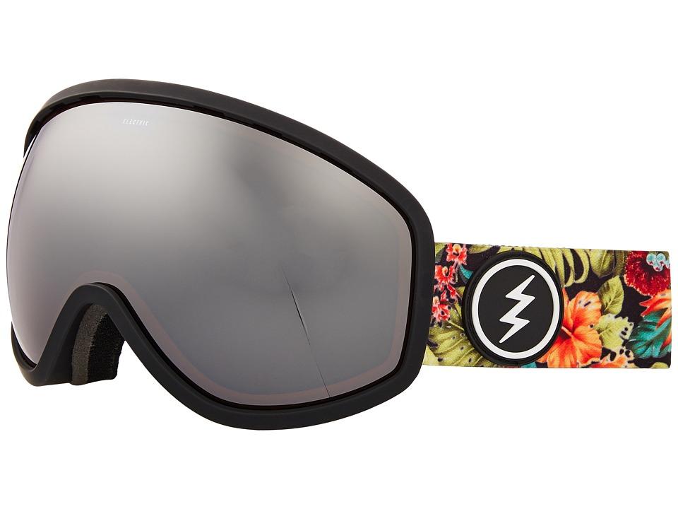 Electric Eyewear Masher (Dark Tourist/Brose Silver Chrome Lens) Goggles