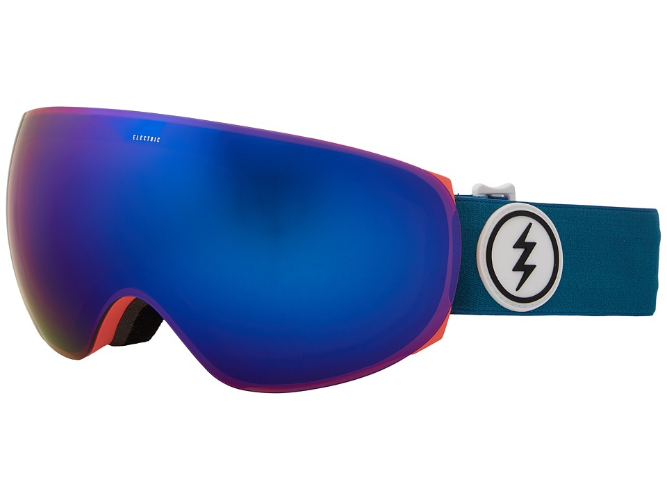 Electric Eyewear EG3.5 (Pink Palms/Brose Blue Chrome Lens) Goggles