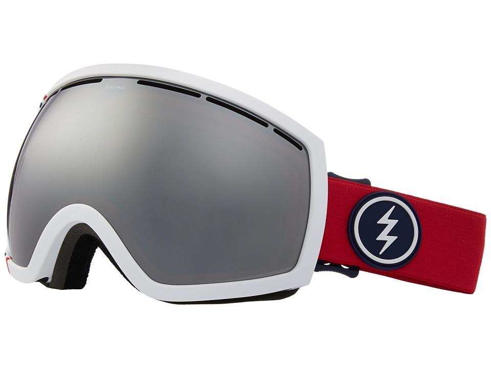 Electric Eyewear EG2 (U.S.A./Brose Silver Chrome Lens) Goggles
