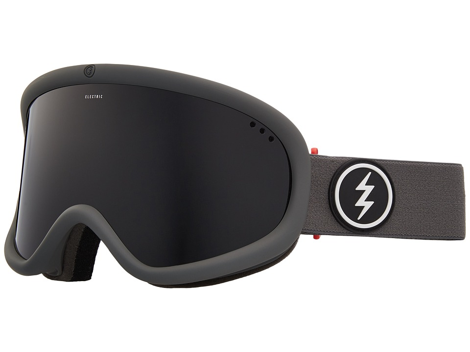 Electric Eyewear Charger XL (Grey Frame/Jet Black Lens) Goggles
