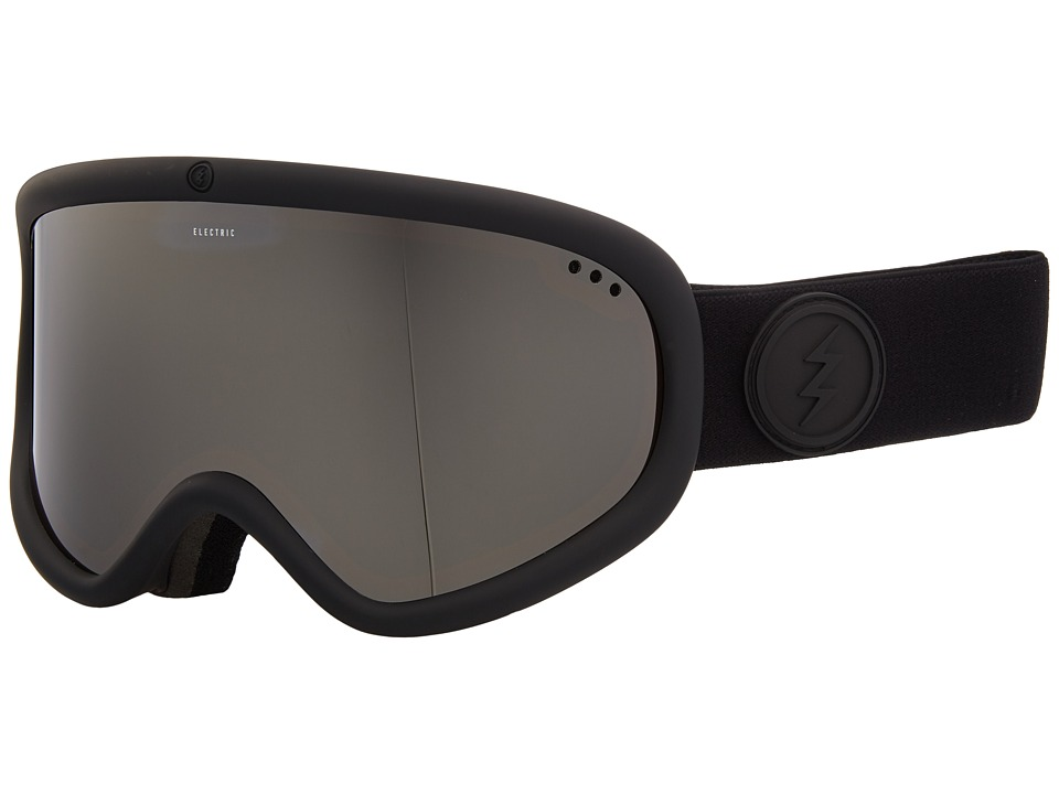 Electric Eyewear Charger XL (Matte Black Frame/Brose Silver Chrome Lens) Goggles