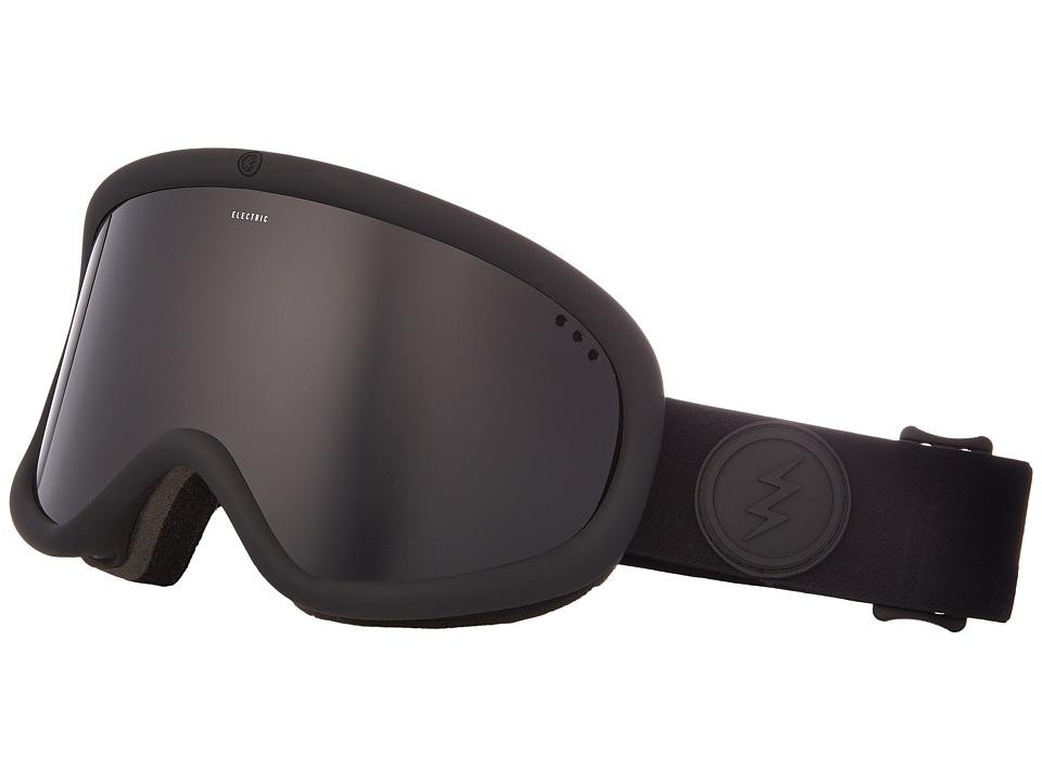 Electric Eyewear Charger XL (Matte Black Frame/Jet Black Lens) Goggles