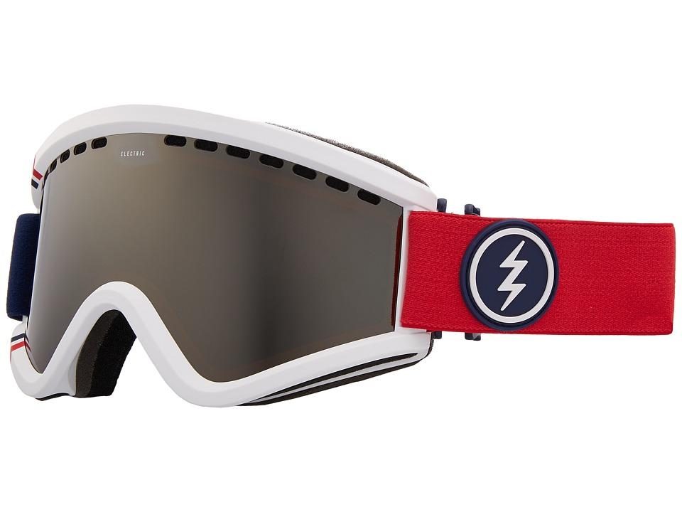Electric Eyewear EGV (U.S.A./Brose Silver Chrome Lens) Goggles