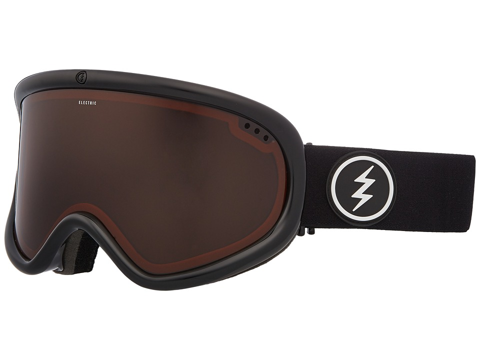 Electric Eyewear Charger XL (Gloss Black Frame/Brose Lens) Goggles