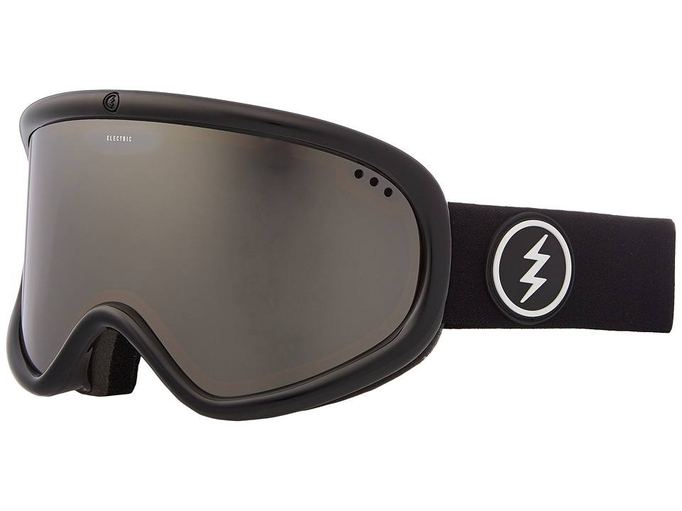 Electric Eyewear Charger XL (Gloss Black Frame/Brose Silver Chrome Lens) Goggles