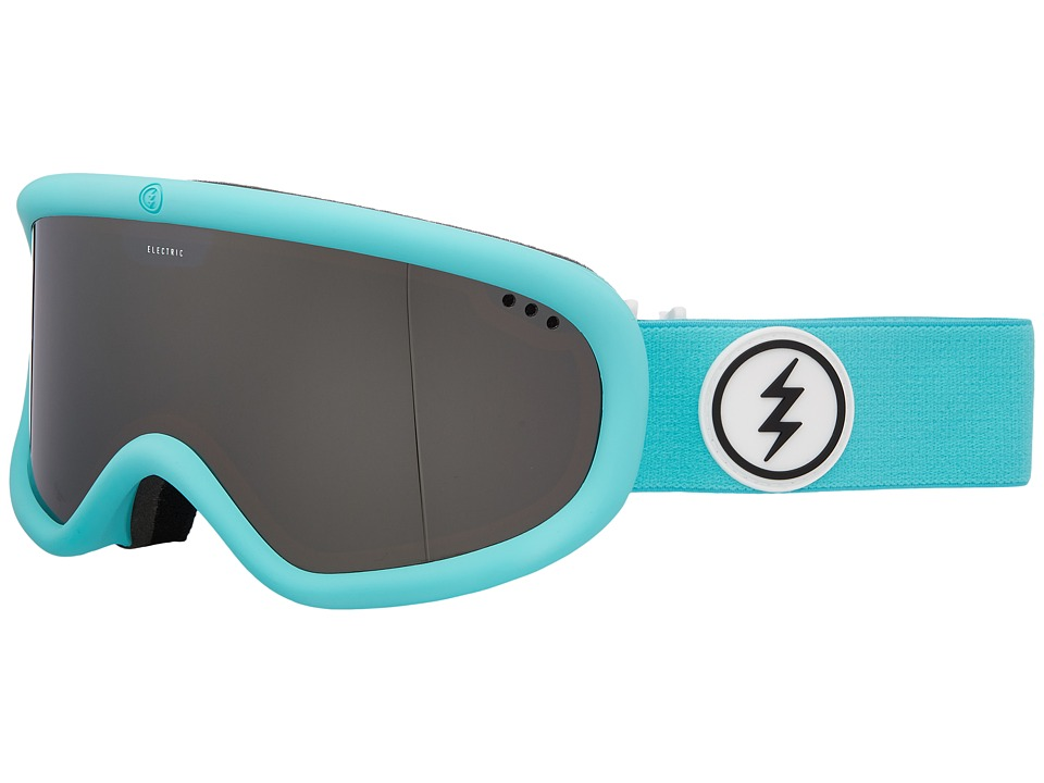 Electric Eyewear Charger (Turquoise Frame/Brose Silver Chrome Lens) Goggles