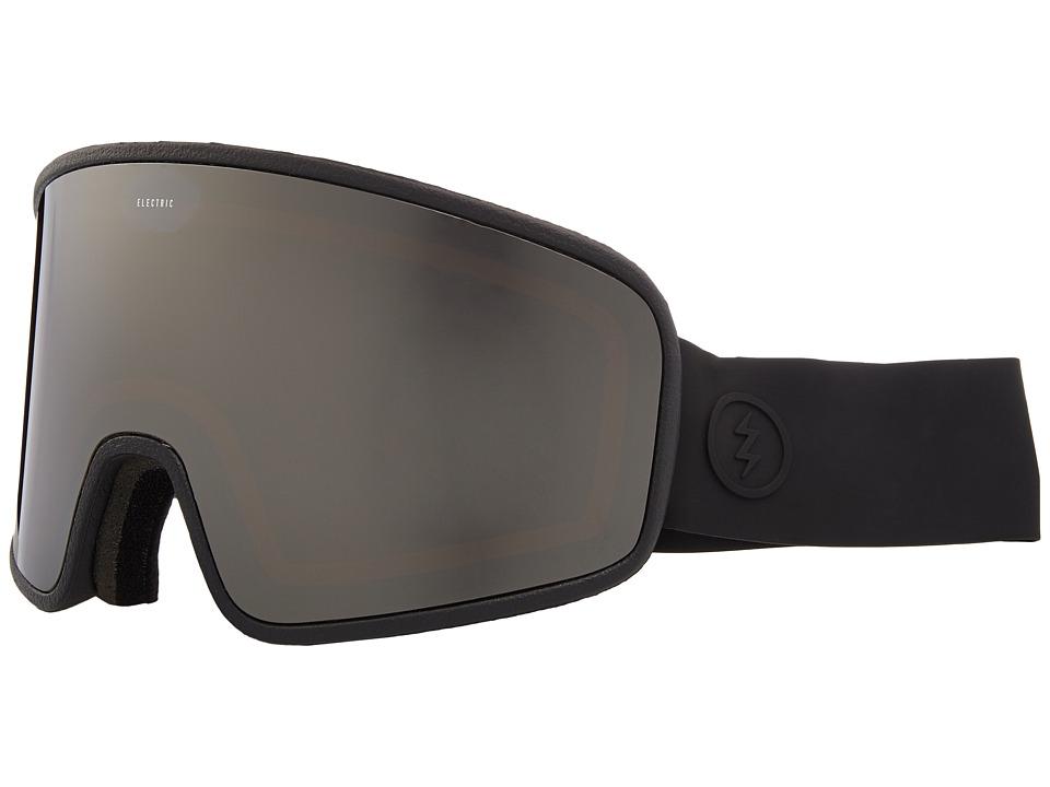 Electric Eyewear Electrolite (Matte Black Frame/Brose Silver Chrome Lens) Goggles