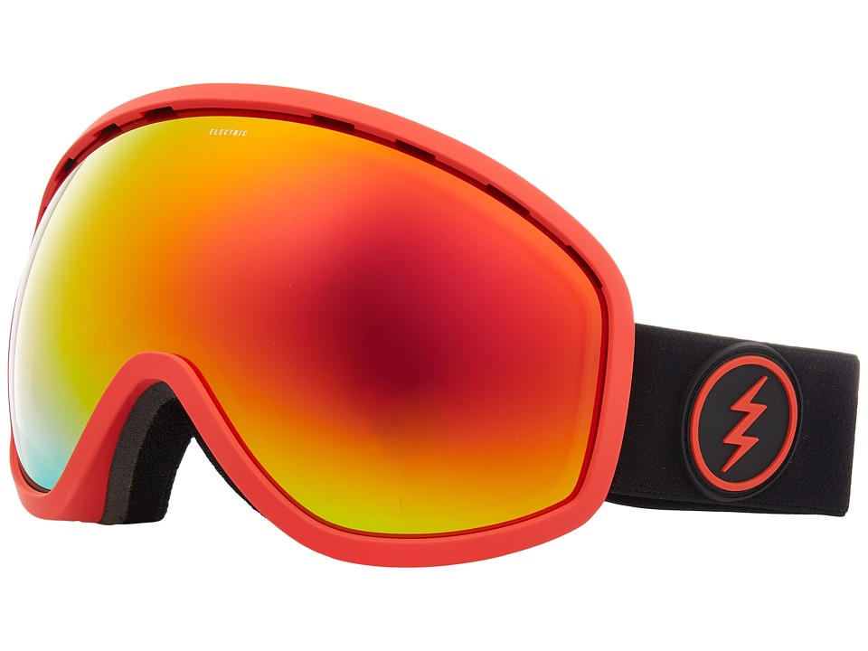 Electric Eyewear Masher (Red Frame/Brose Red Chrome Lens) Goggles