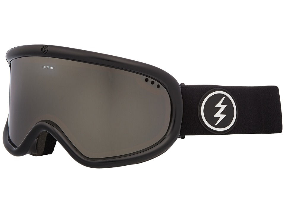Electric Eyewear Charger (Gloss Black Frame/Brose Silver Chrome Lens) Goggles