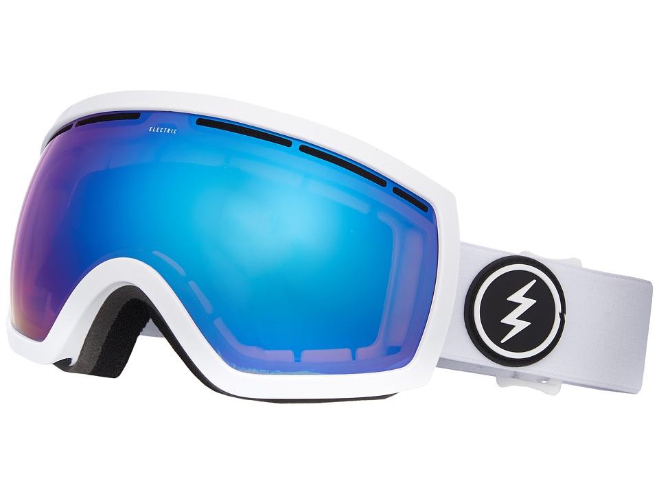 Electric EG2.5 (Gloss White/Brose Blue Chrome) Goggles