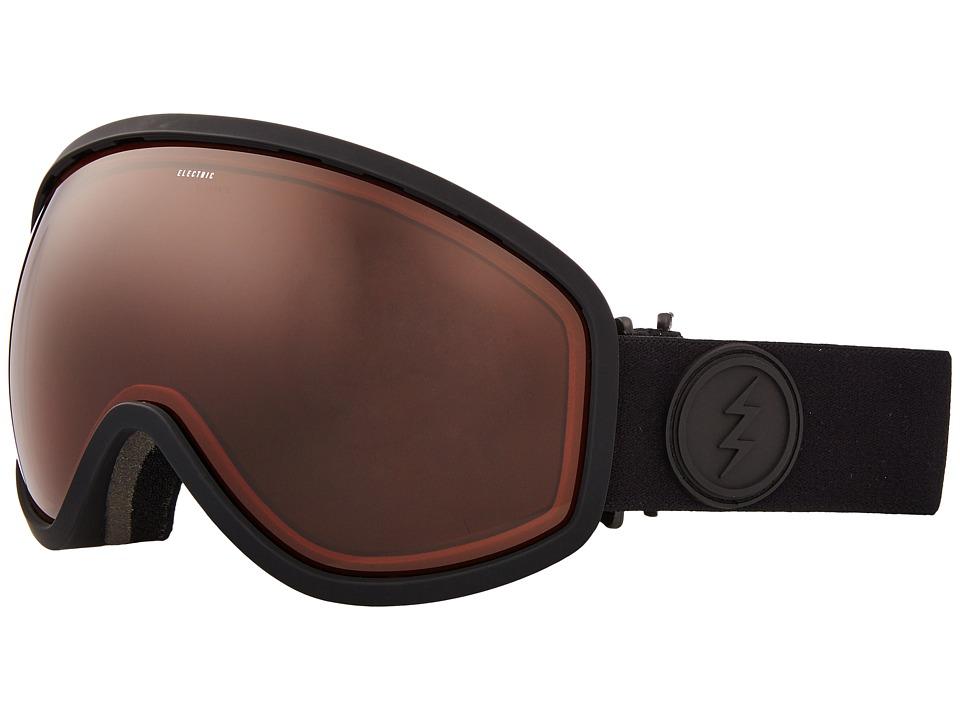 Electric Eyewear Masher (Matte Black Frame/Brose Lens) Goggles