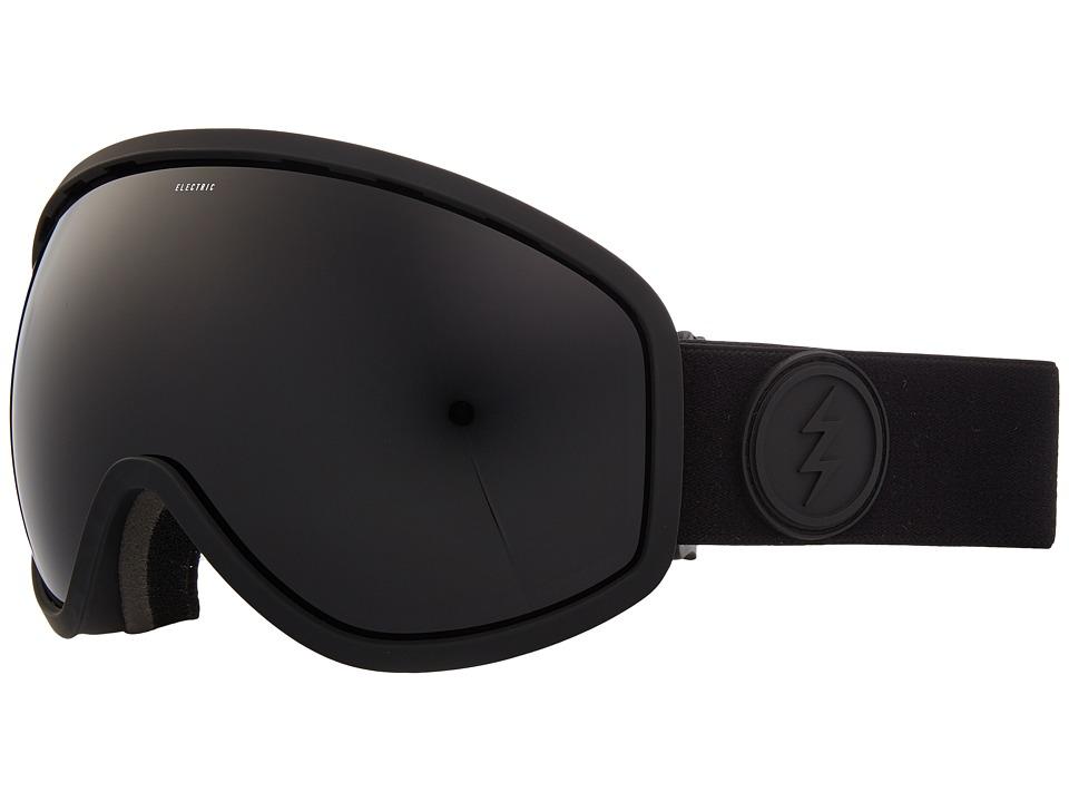 Electric Eyewear Masher (Matte Black Frame/Jet Black Lens) Goggles