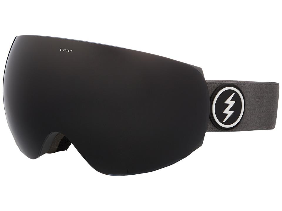 Electric Eyewear EG3 (Grey Frame/Jet Black Lens) Goggles