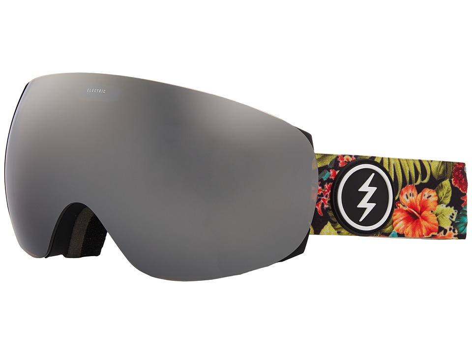 Electric Eyewear EG3.5 (Dark Tourist/Brose Silver Chrome Lens) Goggles