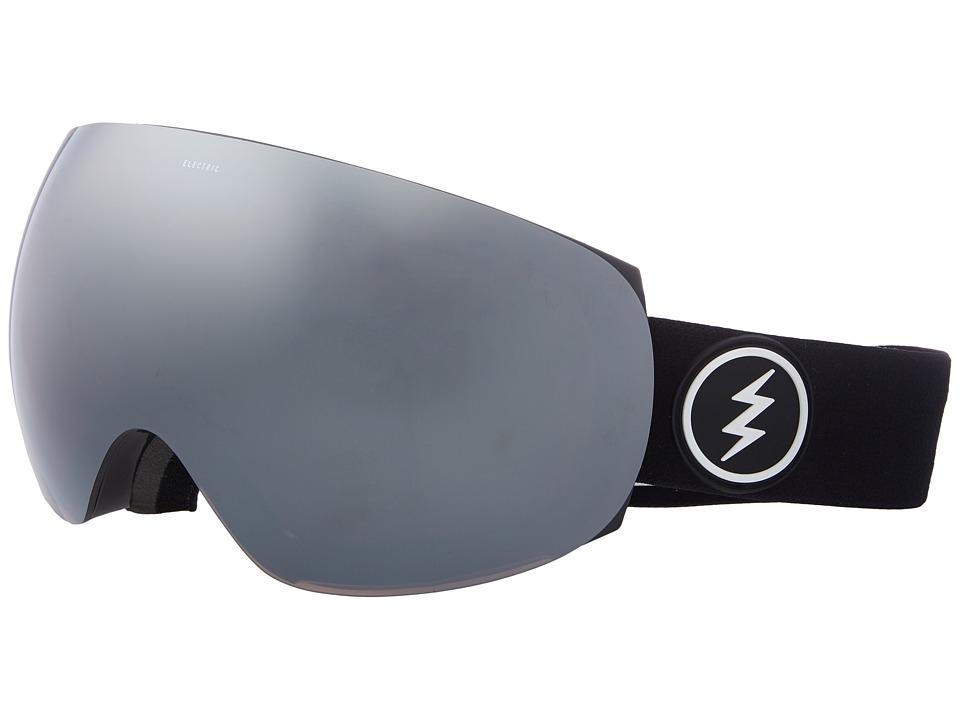 Electric Eyewear EG3 (Gloss Black Frame/Brose Silver Chrome Lens) Goggles