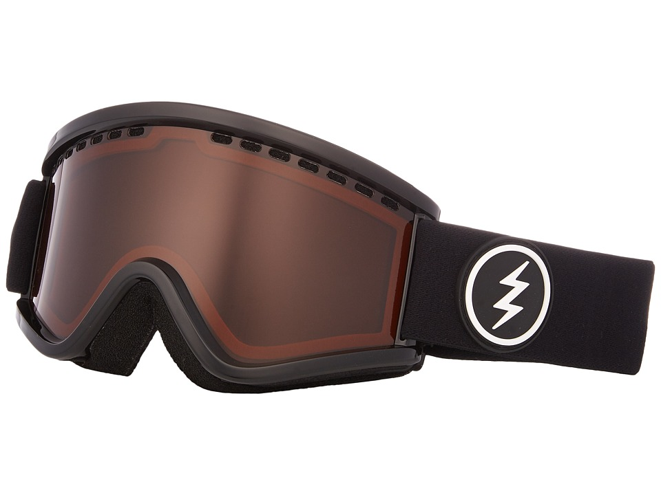 Electric Eyewear EGV.K (Youth) (Gloss Black Frame/Brose Lens) Goggles