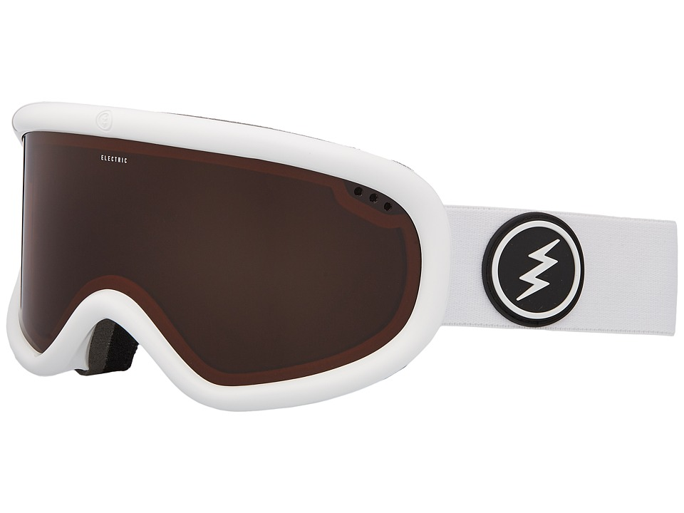 Electric Eyewear Charger (Gloss White Frame/Brose Lens) Goggles