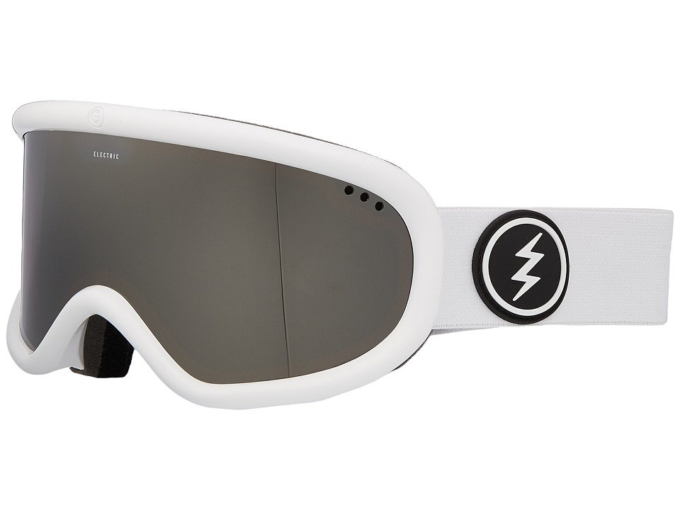 Electric Eyewear Charger (Gloss White Frame/Brose Silver Chrome Lens) Goggles