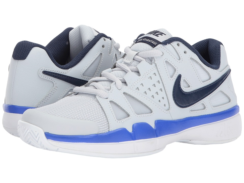 Nike Air Vapor Advantage (Pure Platinum/Midnight Navy/Rac...