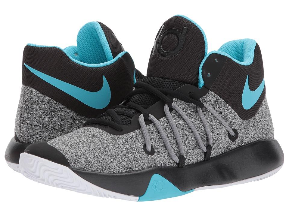 Nike KD Trey 5 V (Black/White/Gamma Blue/Cool Grey) Men's...