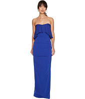 Nicole Miller - Techy Crepe Strapless Gown w/ Flare