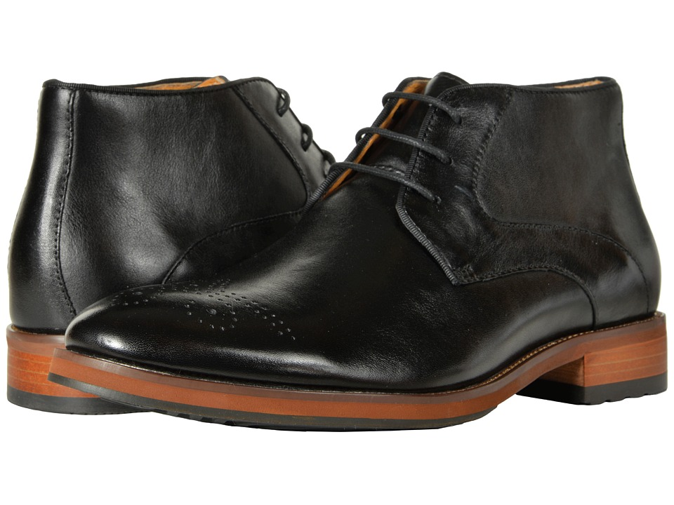 Florsheim Blaze Chukka Boot (Black Smooth) Men