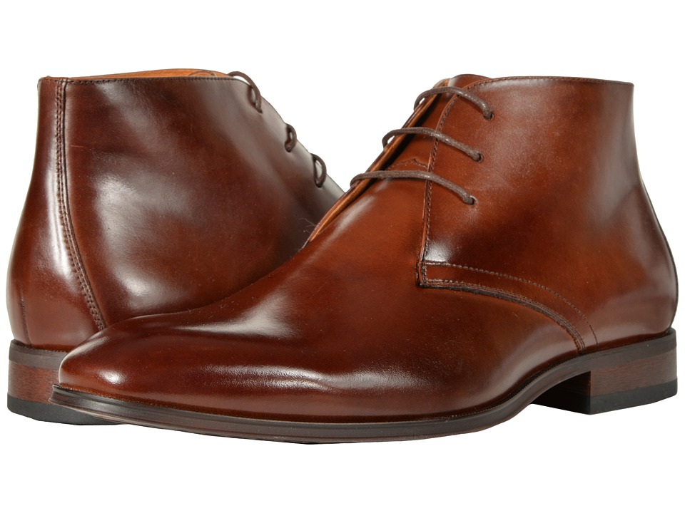 Florsheim Corbetta Plain Toe Boot (Cognac Smooth) Men