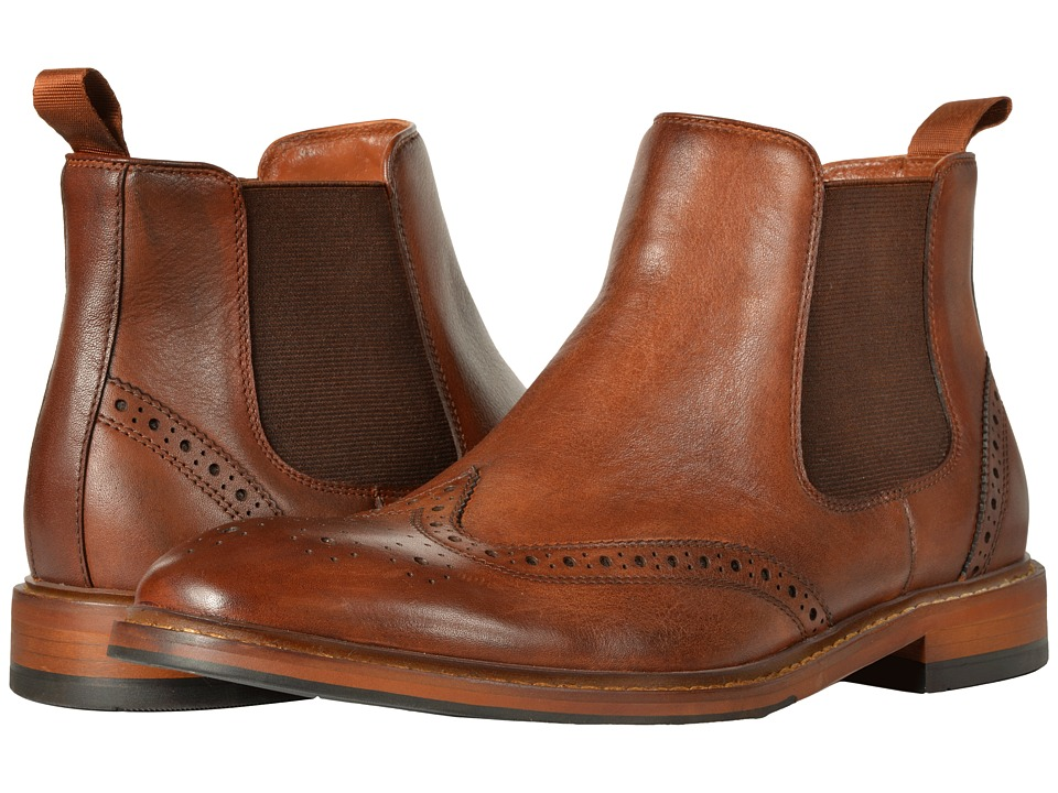 Florsheim Sheffield Wingtip Gore Boot (Saddle Tan) Men