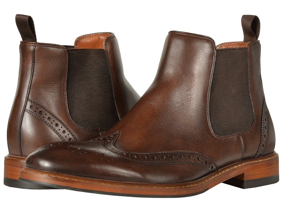 Florsheim Sheffield Wingtip Gore Boot (Brown) Men