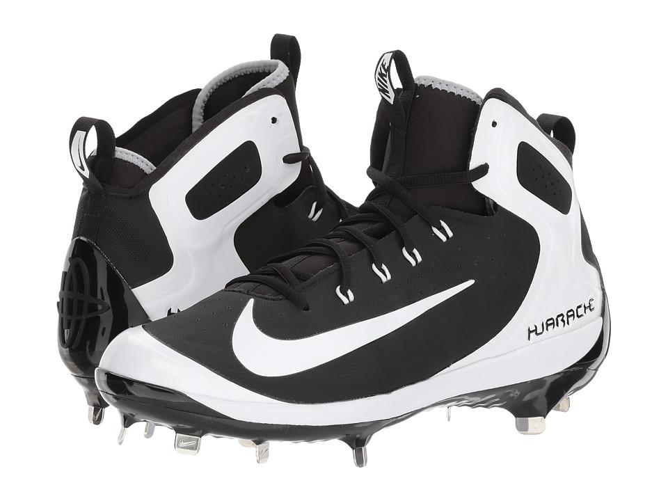 Nike Alpha Huarache Elite (Black/White/Wolf Grey/Grey) Me...