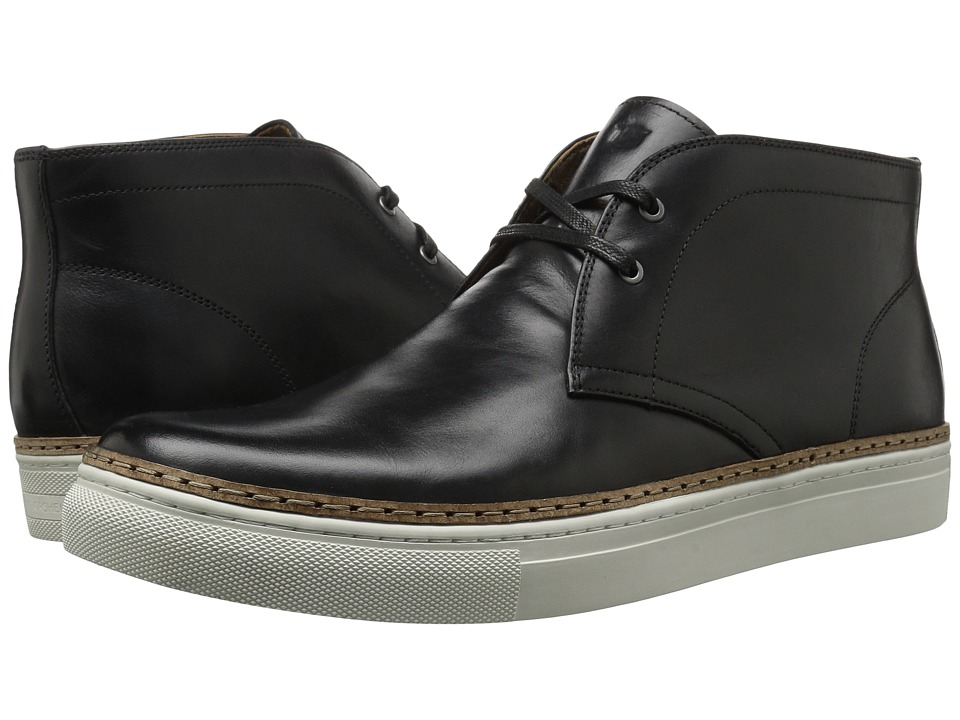 Florsheim Pivot Chukka Boot (Black Smooth) Men