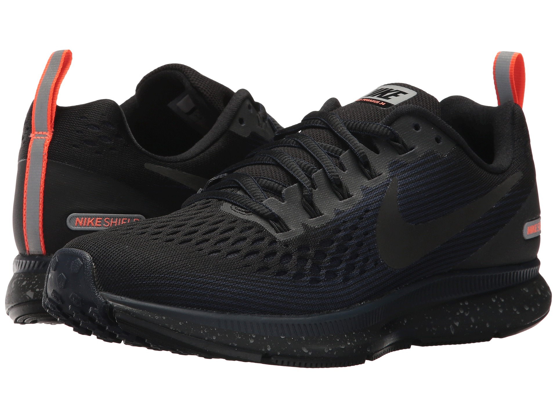 nike air zoom pegasus 34 shield at. Black Bedroom Furniture Sets. Home Design Ideas