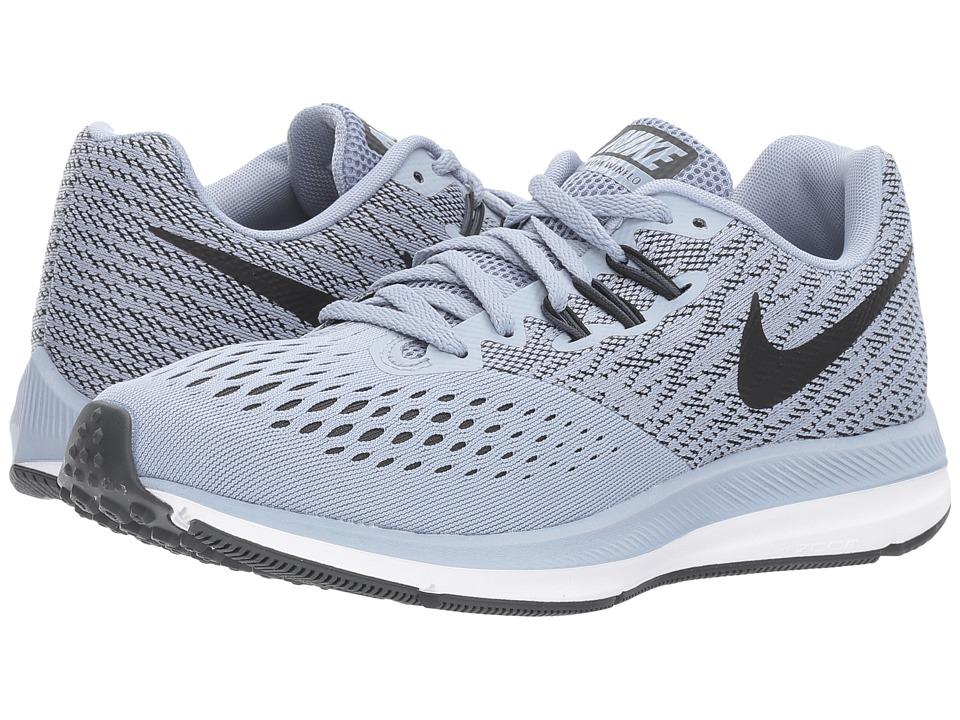 Nike Air Zoom Winflo 4 (Glacier Grey/Black/Anthracite/Whi...