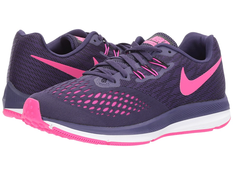 Nike Air Zoom Winflo 4 (Ink/Deadly Pink/Fire Pink/Black) ...