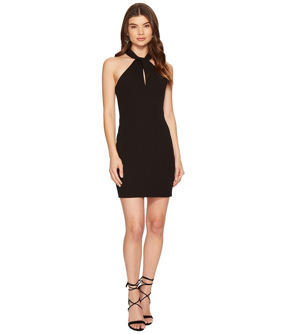 1.STATE - Halter Neckline Bodycon Dress