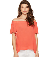 1.STATE - Off Shoulder Flounce Sleeve Blouse