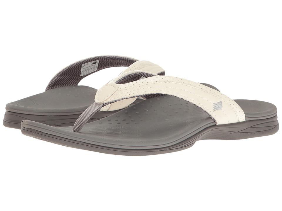 New Balance - Hayden Thong (White/Grey) Women's Sandals