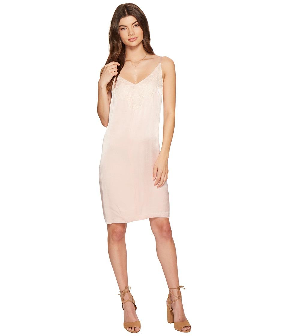 1.STATE - Spaghetti Strap Shift Dress w/ Lace